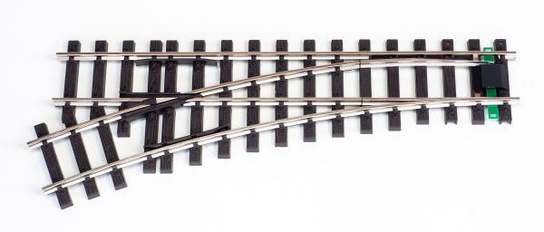 NI Elektro/DCC-Weiche links 120cm
