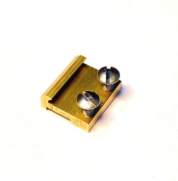 Schraubschienenverbinder 15mm Messing (200stk)