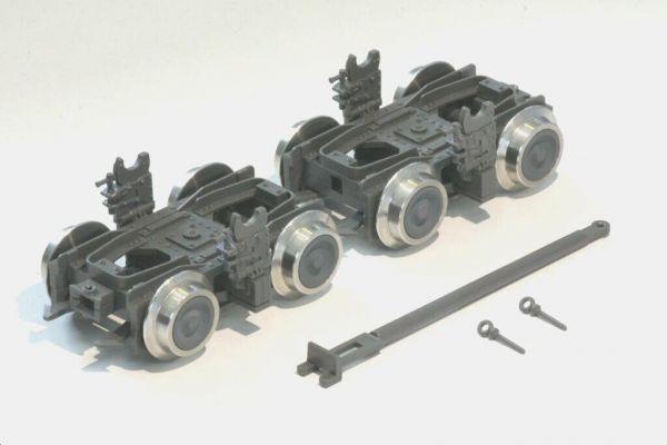 DR-Rollbock, 1 Paar, Modellbouw Boerman