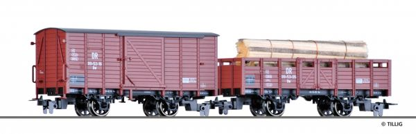 Güterwagenset DR H0m