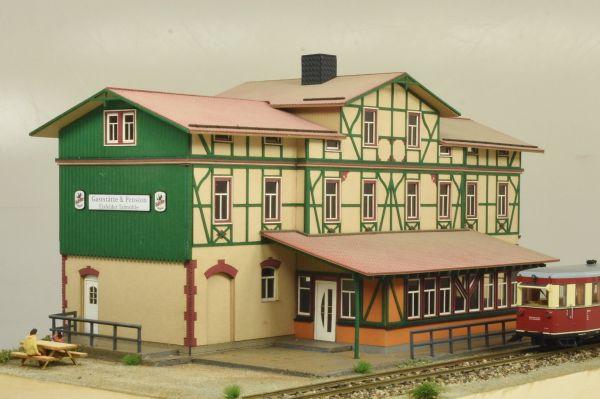 """Bausatz Bahnhof """"Eisfelder Talmühle"""" Epoche VI (Spur H0)"""