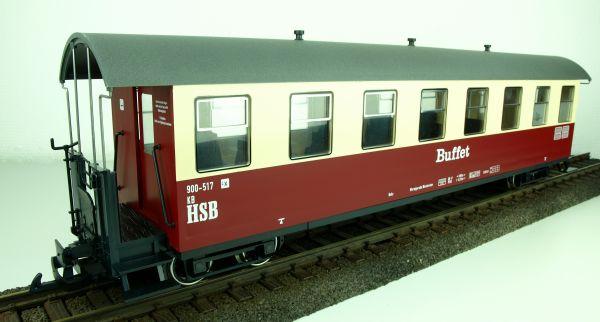 """HSB Personenwagen 8 Fenster, 900-517 """"Buffet"""", incl. Kücheneinrichtung"""