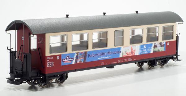 """HSB Personenwagen 900-439 """"Halberstädter Würstchen"""""""