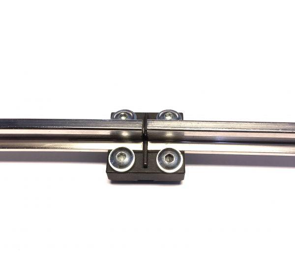 8x TL-Isolier-Schienenverbinder
