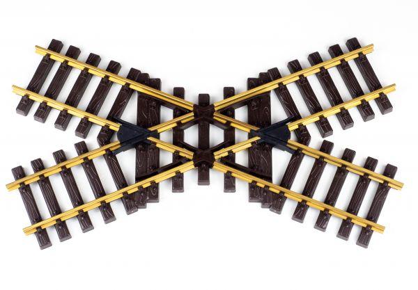 Messing Kreuzung 45°, 39cm