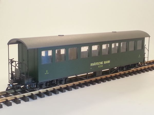 RhB Personenwagen B 2248, Sprengwerk, Batteriekasten