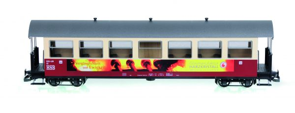 "HSB Personenwagen, 7 Fenster 900-439 ""Glasmanufaktur Harz"""