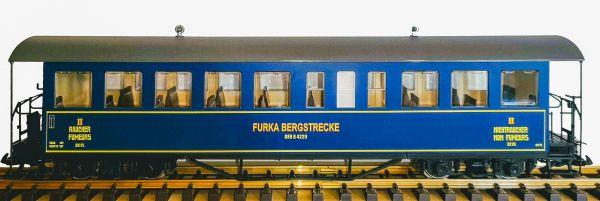 Personenwagen B 4229 der Furka Bergstrecke