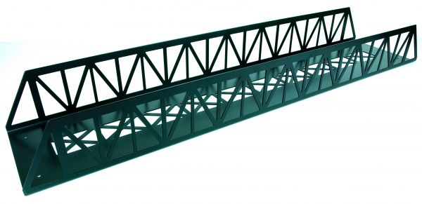 Brücke Stahl, gerade 90cm