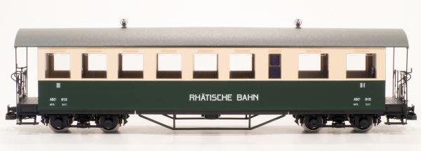 RhB Personenwagen ABC 615 grün/beige