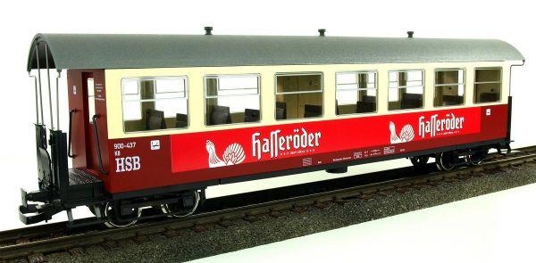 """HSB Personenwagen, 7 Fenster 900-435 """"Hasseröder Pils""""-"""