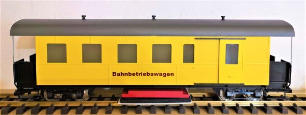 Bahnbetriebswagen Reinigungswagen
