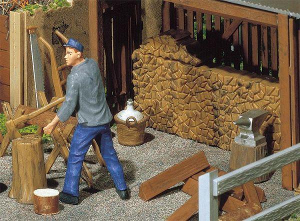 Holzstapel, Werkzeug
