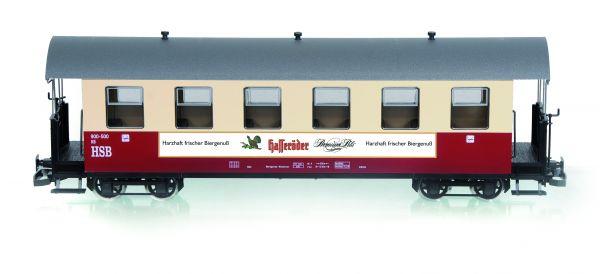 HSB Personenwagen 6 Fenster 900-500, Hasseröder Pils