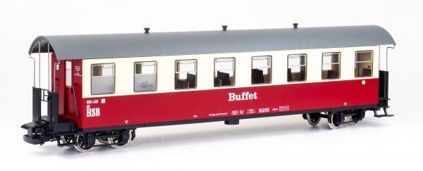"""HSB Personenwagen 8 Fenster, 900-498 """"Buffet"""""""