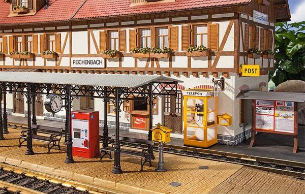 Bahnhofs Zubehör