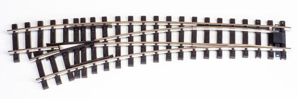 NI Elektro/DCC-Bogenweiche links 120/210cm