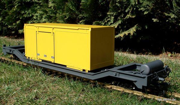 RhB Containertragwagen Sbk-v 7709