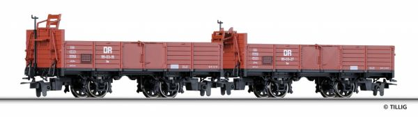 off. Güterwagenset H0m , DR, Ep.III/IV
