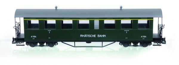 RhB Personenwagen A 1104 , incl. Toilettenabteil, Sprengwerk,