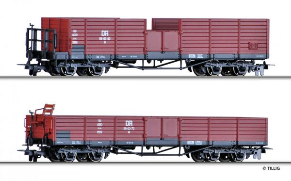 off. Güterwagenset H0m , DR, Ep.III