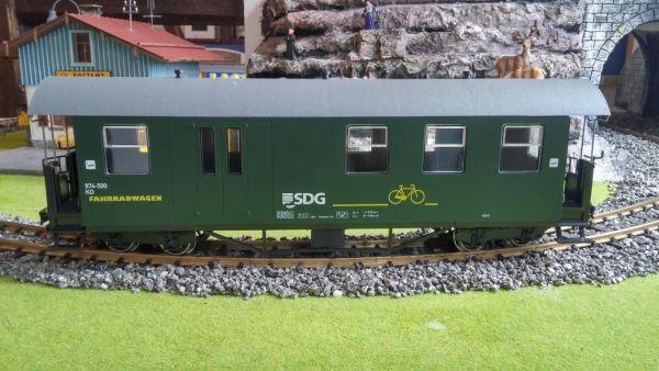 """SDG Packwagen 974-500, """"Fahrradwagen"""""""