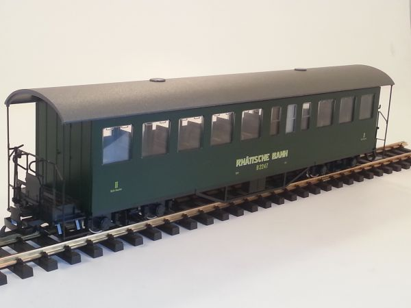 3er Set RhB Personenwagen B 2245-2247, mit Sprengwerk,