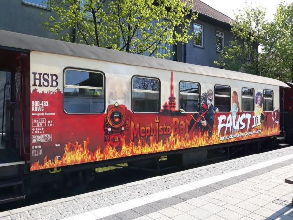 HSB FAUST-Sonderwagen Neuheit 2018